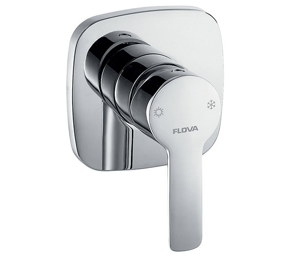 Flova Urban Concealed Manual Shower Valve With Dual Outlet