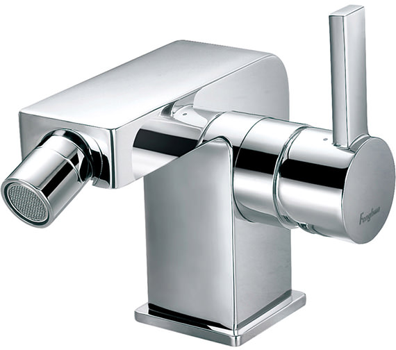 Flova Str8 Deck Mounted Bidet Mixer Tap With Clicker Waste