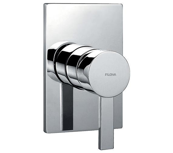 Flova Str8 Concealed Manual Shower Valve With Large Plate