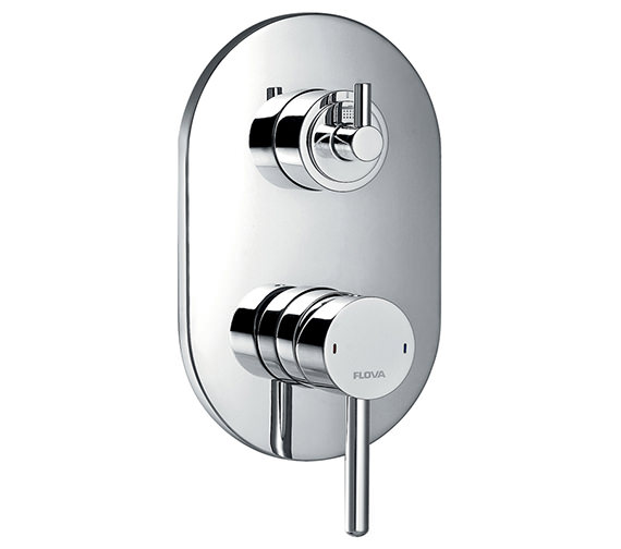Flova Levo Concealed Manual Shower Valve With 3 Way Diverter