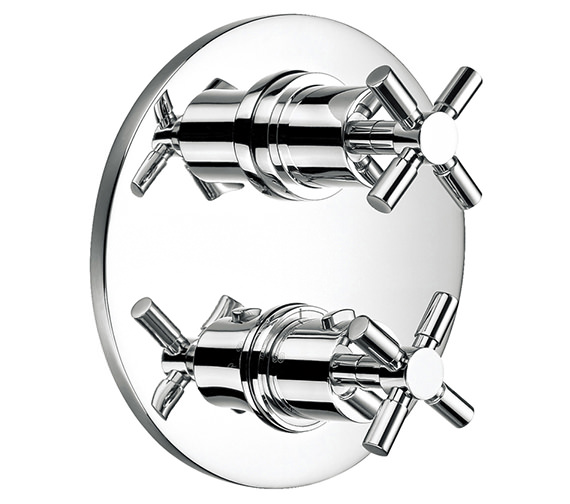 Alternate image of Flova XL Thermostatic Complete Shower Set With Bath Spout