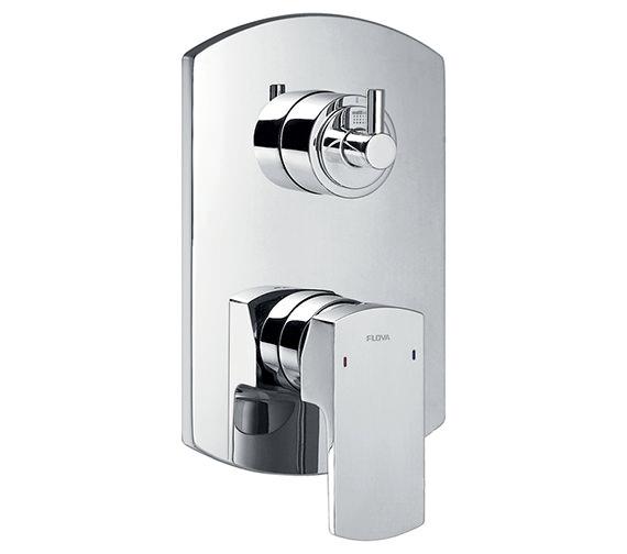 Flova Dekka Concealed Manual Shower Valve With 3 Way Diverter
