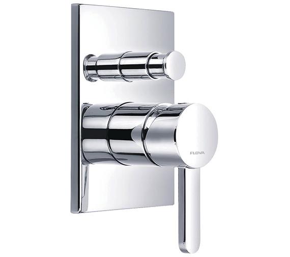 Flova Essence Concealed Manual Shower Valve With 2 Way Diverter