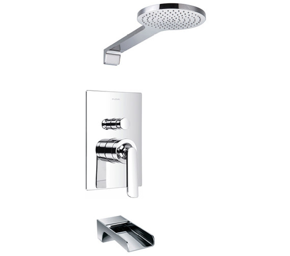 Flova Essence Manual Valve With Diverter - Overhead Shower And Bath Spout