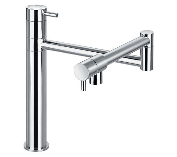 Flova Levo Swivel Arm Single Lever Kitchen Sink Mixer Tap