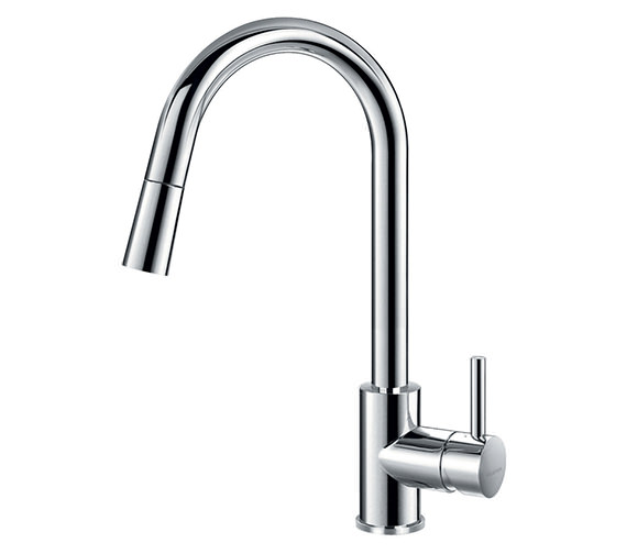 Flova Levo Pull-Down Spray Single Lever Kitchen Sink Mixer Tap