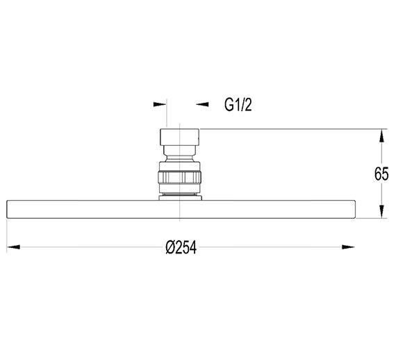 Technical drawing QS-V27246 / KI026A