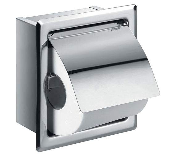 Flova Gloria Single Concealed Toilet Roll Holder - GL8965