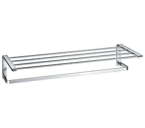 Flova Lynn Quad Bar Tiered Towel Rail 600mm - LY8925