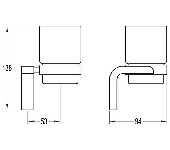 Technical drawing QS-V27326 / LY8930