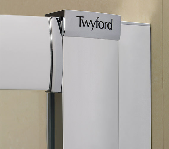Alternate image of Twyford ES200 Corner Entry Shower Enclosure 900 x 900mm