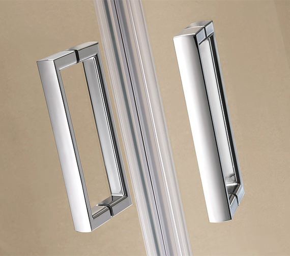 Alternate image of Twyford ES200 Pivot Shower Enclosure Door 760mm - ES23100CP