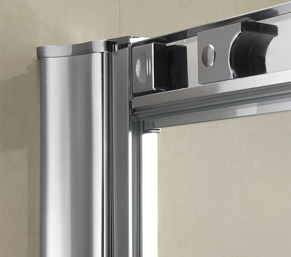 Alternate image of Twyford ES200 Sliding Shower Enclosure Door 1000mm - ES26500CP
