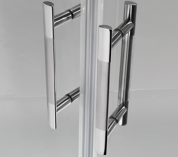 Alternate image of Twyford ES400 Offset Quadrant Shower Enclosure 1000 x 800mm