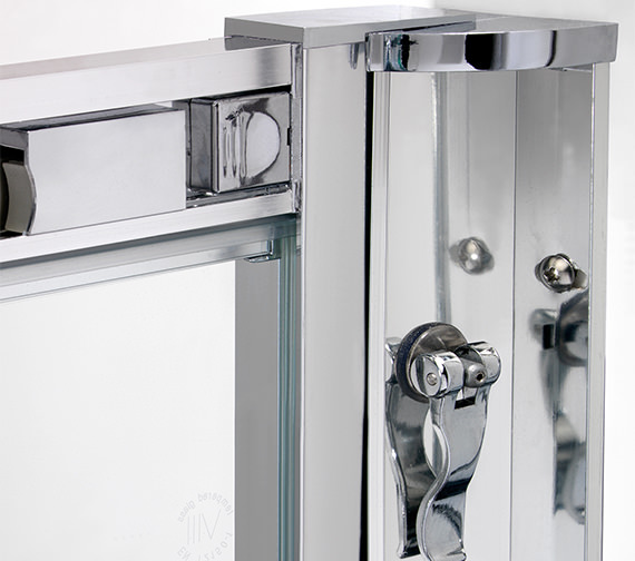 Alternate image of Twyford ES400 Offset Quadrant Shower Enclosure 1200 x 900mm