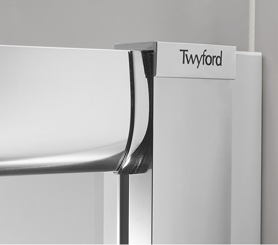 Alternate image of Twyford ES400 Sliding Shower Enclosure Door 1700mm - ES40500CP