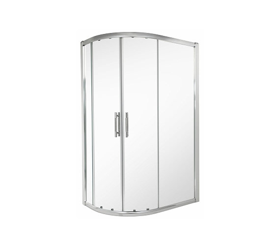 Twyford ES400 Offset Quadrant Shower Enclosure 1200 x 900mm