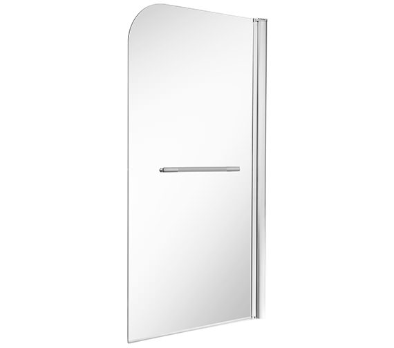 Twyford ES400 Single Panel Bath Screen 1500 x 850mm - ES40960CP