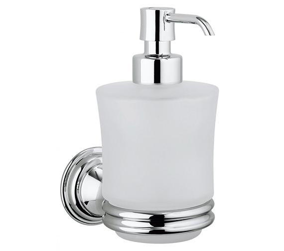 Crosswater Belgravia Glass Soap Dispenser And Holder - BL011C