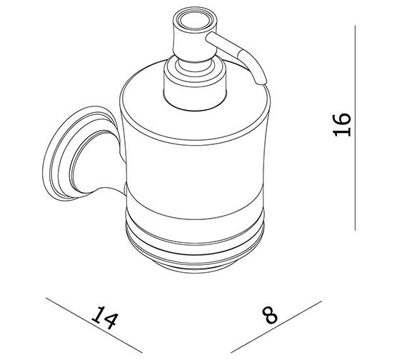 Technical drawing QS-V27523 / BL011C
