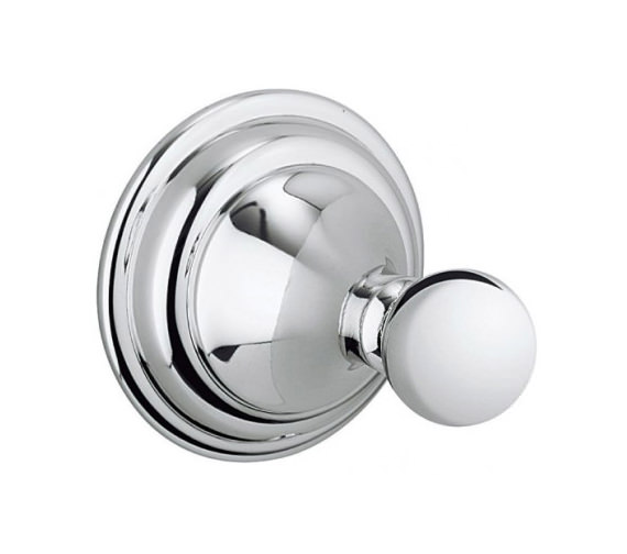 Crosswater Belgravia Single Robe Hook - BL021C