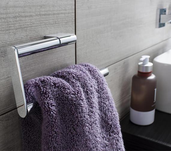Crosswater Mpro Towel Ring Chrome - PRO013C
