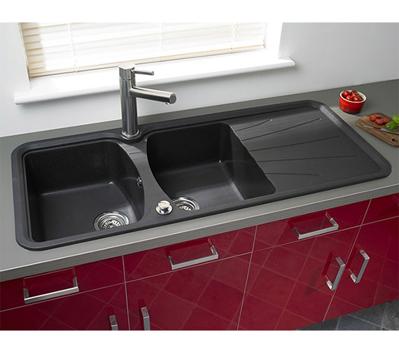 Alternate image of Astracast Viceroy Single Lever Stainless Steel Kitchen Sink Mixer Tap