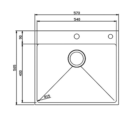 Technical drawing QS-V27592 / OXS2XBHOMEPK