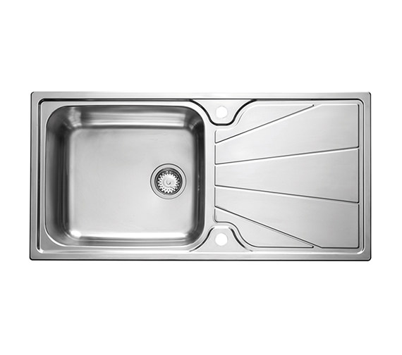 Astracast Korona 1.0 Bowl Polished Stainless Steel Inset Sink