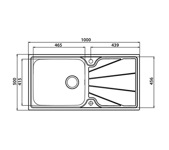 Technical drawing QS-V27597 / KO10XXHOMESK
