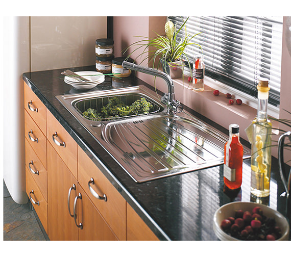 Additional image of Astracast Alto 1.0 Bowl Stainless Steel Inset Sink