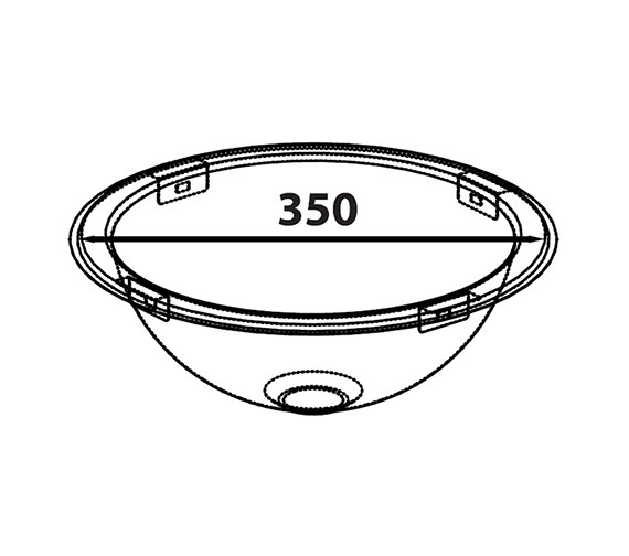 Technical drawing QS-V27609 / OB10XBHOMESK
