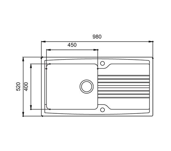 Technical drawing QS-V27643 / EQ10WHHOMESK