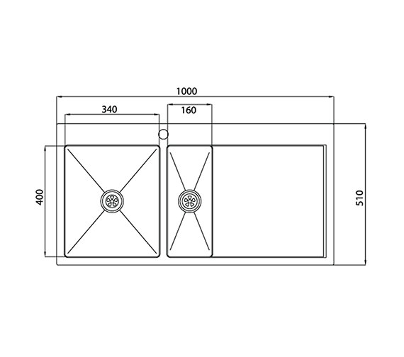 Technical drawing QS-V27684 / VN15XBHOMESKL