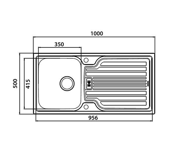 Technical drawing QS-V27689 / MX10XBHOMESK