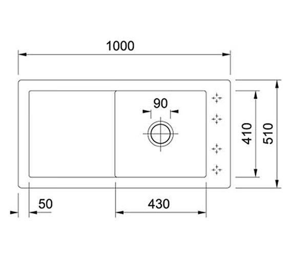 Technical drawing QS-V27763 / 1240318857 BOM