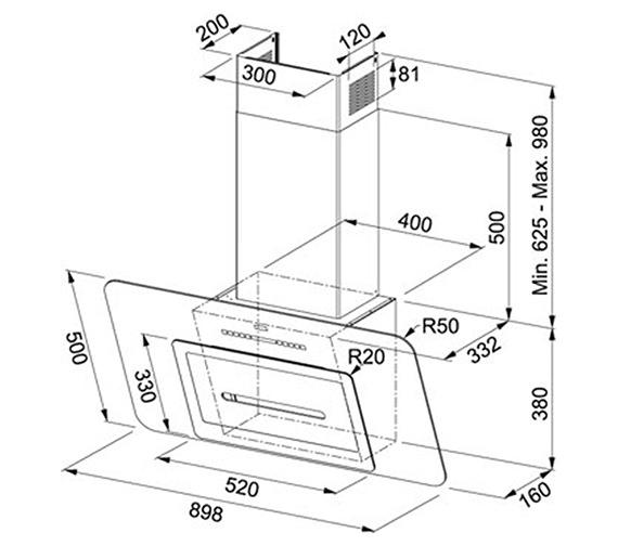 Technical drawing QS-V27773 / 1100310268