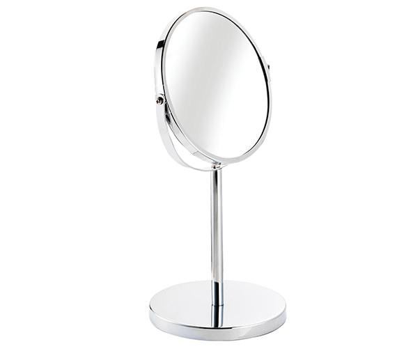 Croydex Essentials Circular Magnifying Pedestal Mirror - QM106441