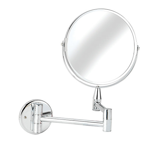 Croydex Professional Small Round Magnifying Mirror - QA103041