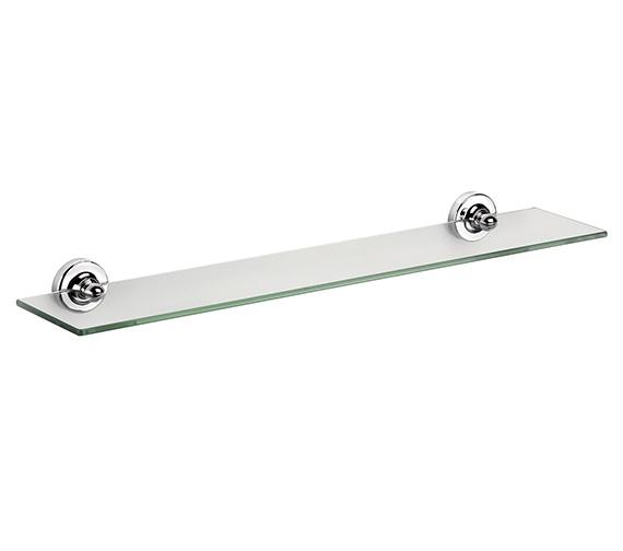 Croydex Worcester Flexi-Fix Glass Shelf 590mm - QM461441