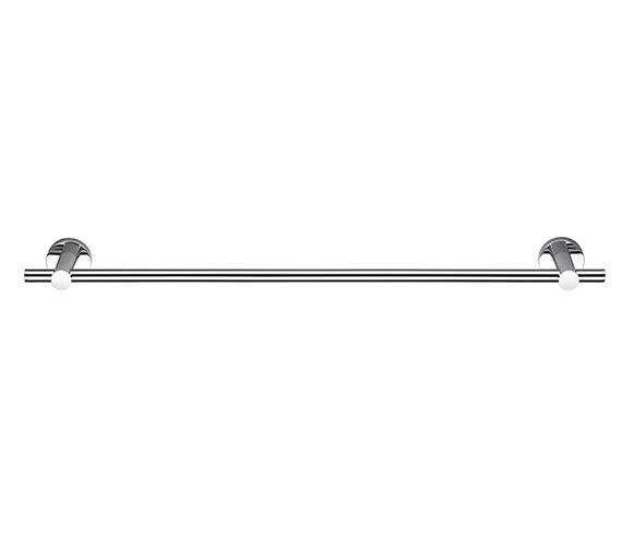 Croydex Epsom Flexi-Fix Towel Rail 672mm - QM482741