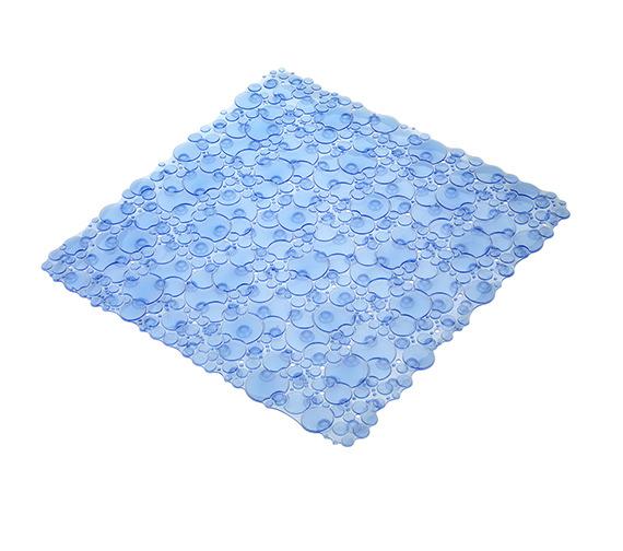 Croydex Bubbles Shower Mat Blue