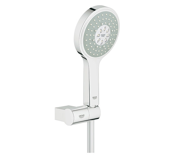 Grohe Power And Soul Cosmopolitan 130mm Chrome Hand Shower And Holder