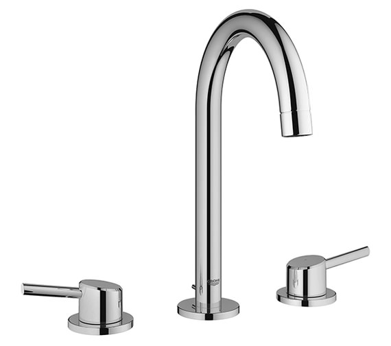 Grohe Concetto Deck Mounted 3 Hole Basin Mixer Tap - 20216001
