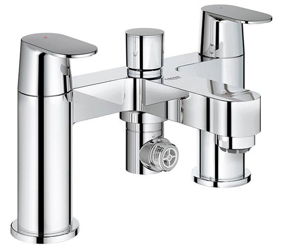 Grohe Eurosmart Cosmopolitan Deck Mounted Bath Shower Mixer Tap