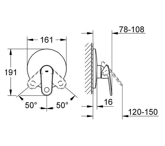 Technical drawing QS-V28430 / 19537002