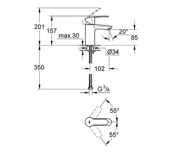 Technical drawing QS-V28431 / 3246820L