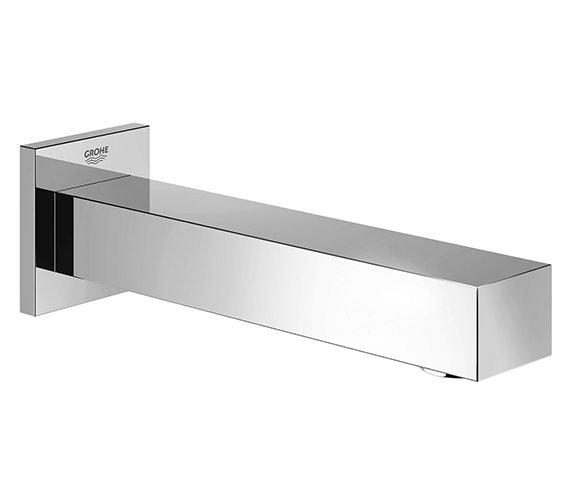 Grohe Eurocube Wall Mounted Chrome Bath Spout With Mousseur - 13303000