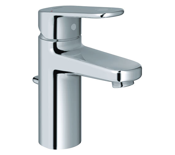 Grohe Europlus Monobloc Basin Mixer Tap With Pop Up Waste