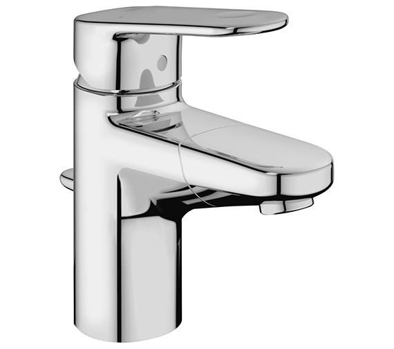 Grohe Europlus Mono Single Lever Basin Mixer Tap With Pull Out Spout